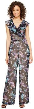 Adelyn Rae Genevieve Frill Jumpsuit Women's Jumpsuit & Rompers One Piece