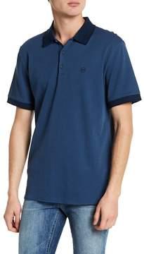 AG Jeans Speckle Collar Polo