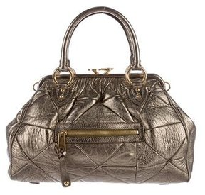 Marc Jacobs Metallic Leather Stam Bag - METALLIC - STYLE