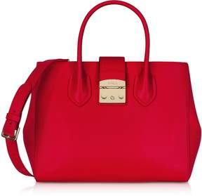 Furla Ruby Leather Metropolis Medium Tote Bag