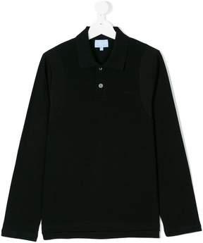 Lanvin Enfant Teen long sleeved polo shirt