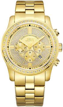 JBW Mens Gold Tone Bracelet Watch-J6337b