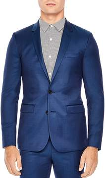 Sandro Notch Slim Fit Suit Jacket