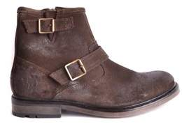 Base London Men's Brown Suede Ankle Boots.