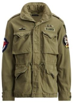 Ralph Lauren The Iconic M-65 Field Jacket Soldier Olive S