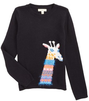 Tucker + Tate Toddler Girl's Cotton & Cashmere Sweater