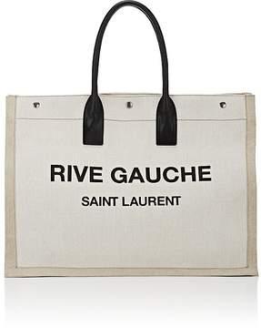 Saint Laurent Men's Logo Tote Bag