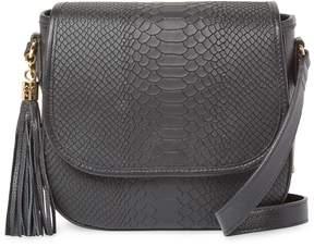 GiGi New York Women's Kelly Leather Tassel Crossbody Bag
