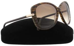 Tom Ford FT0324 Linda Cateye Sunglasses, 59mm