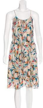 Doo.Ri Silk Geometric Print Dress