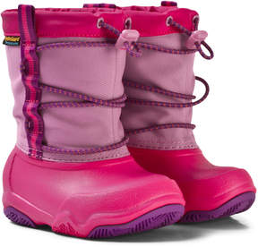 Crocs Party Pink/Candy Pink Swiftwater Waterproof Boot