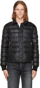 Saint Laurent Black Down Nylon Jacket