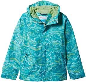 Columbia Kids Fast Curious Rain Jacket Girl's Coat