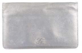 Chanel Metallic Caviar CC Wallet