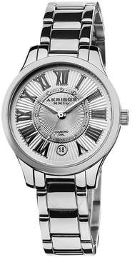Akribos XXIV Akribos Diamond Stainless Steel Ladies Watch