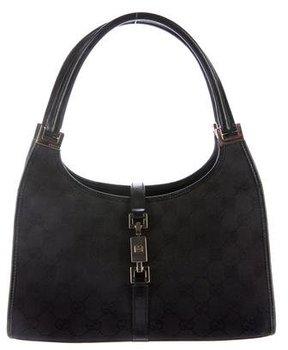 Gucci GG Jackie Shoulder Bag - BLACK - STYLE
