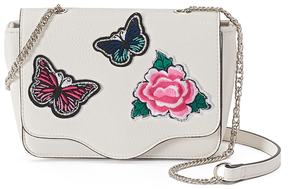 Candie's® Floral Butterfly Crossbody Bag