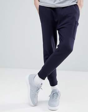 Le Breve Double Drop Crotch Joggers