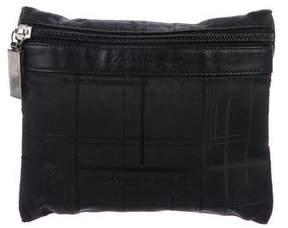 Salvatore Ferragamo Woven Cosmetic Bag