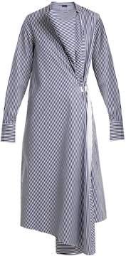 Joseph Arran striped cotton dress