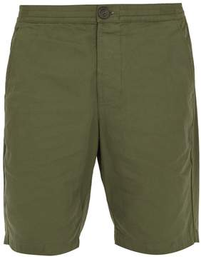 Oliver Spencer Straight-leg cotton-canvas shorts