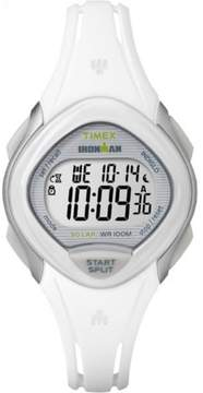 Timex Women's Ironman Sleek 30 White Watch, Resin Strap