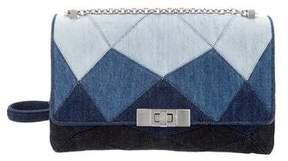 Roger Vivier Denim Prismick Bag