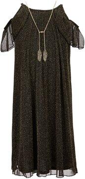 I.N. Girl Big Girls 7-16 Sleeveless Ruffle Dress