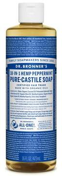Dr. Bronner's Pure Castile Soap - Peppermint - 16 oz