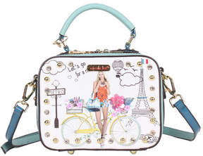 Nicole Lee Women's Spring Ride Print Mini Cross Body Bag