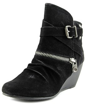 Blowfish Bayard Round Toe Synthetic Ankle Boot.