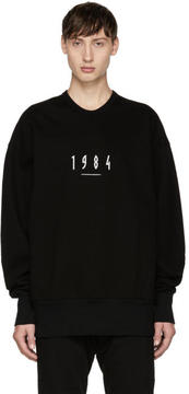 Julius Black 1984 Sweatshirt