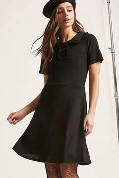 Forever 21 Knit Ruffle Dress
