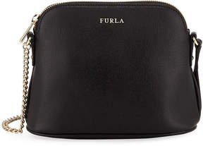 Furla Miky Large Saffiano Leather Dome Crossbody Bag