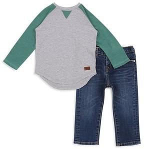 7 For All Mankind Boys' Raglan Tee & Slim-Fit Jeans Set - Little Kid