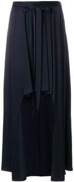 Chalayan Stepped asymmetric skirt