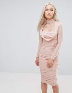 AX Paris Long Sleeve Slinky Dress