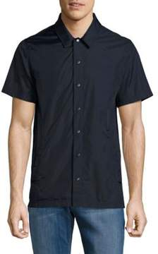Publish Solid Point-Collar Shirt
