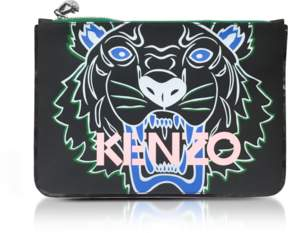 Kenzo Coated Canvas Icon Clutch