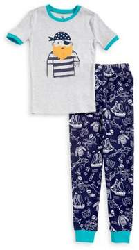 Petit Lem Little Boy's Two-Piece Pirate Cotton Pajama Set