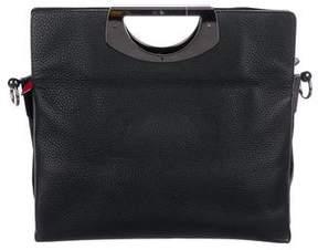 Christian Louboutin Leather Passage Bag