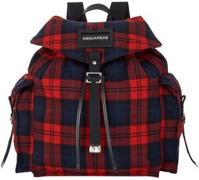 DSQUARED2 Tartan Backpack
