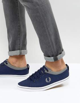 Fred Perry Hallam Twill Sneakers