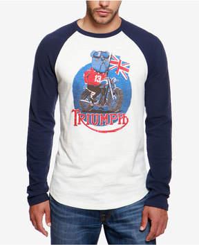 Lucky Brand Men's Adam Nickle Triumph Raglan T-Shirt