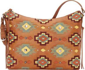 American West Adobe Allure Zip-Top Shoulder Bag (Women's)