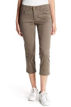 Democracy Stretch Twill Crop Jeans (Petite)