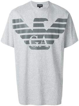 Emporio Armani short sleeved logo T-shirt