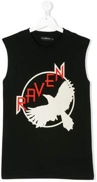 John Richmond Kids Raven printed tank top