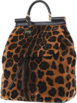 Dolce & Gabbana Backpacks & Fanny packs - CAMEL - STYLE