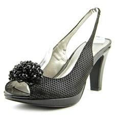 Karen Scott Brandyy Open-toe Synthetic Slingback Heel.